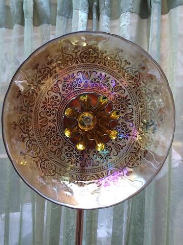 Ornate Vintage Golden Tones - SOLD !