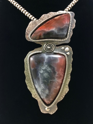Misty Mountain Jasper in Sterling Silver - PRIVATE COLLECTION