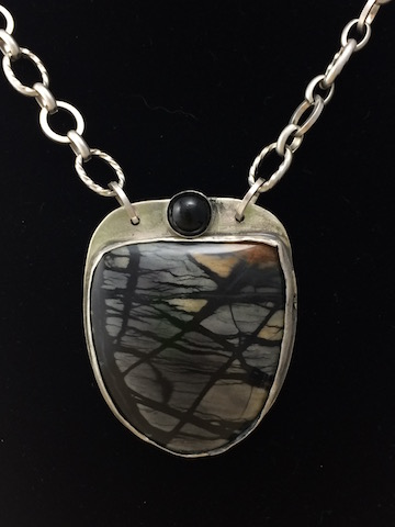 Picasso Jasper in Silver SOLD